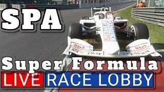 LIVE GT Sport Super Formula on SPA / mehrere kommentierte Rennen [Live Race Lobby online deutsch]PS4