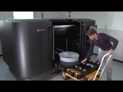 Objet 1000 The World's Largest Polyjet 3d Printer