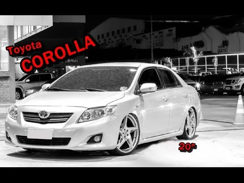 Toyota Corolla Aro 20 U0026quot   U2605 Rodas Aro 20 U261d