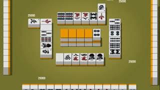 Риичи маджонг обучение основам #1 (сбор руки, простые комбинации)
