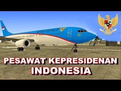 Pesawat Kepresidenan Indonesia - GTA Indonesia Mod! - YouTube