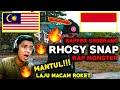 - MALAYSIA - INDONESIA REACT ! RAP MONSTER - RHOSY SNAP