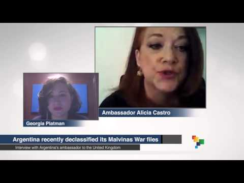 Interview with Argentine Ambassador to the UK, Alicia Castro