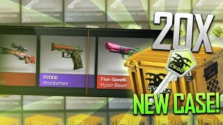 OPENING 20 HYDRA CASES! (NEW CASE)