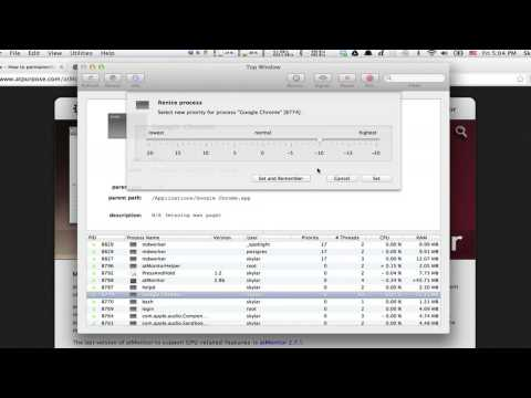 How To Change The Process Priority On Mac Macs Other Tech Tips