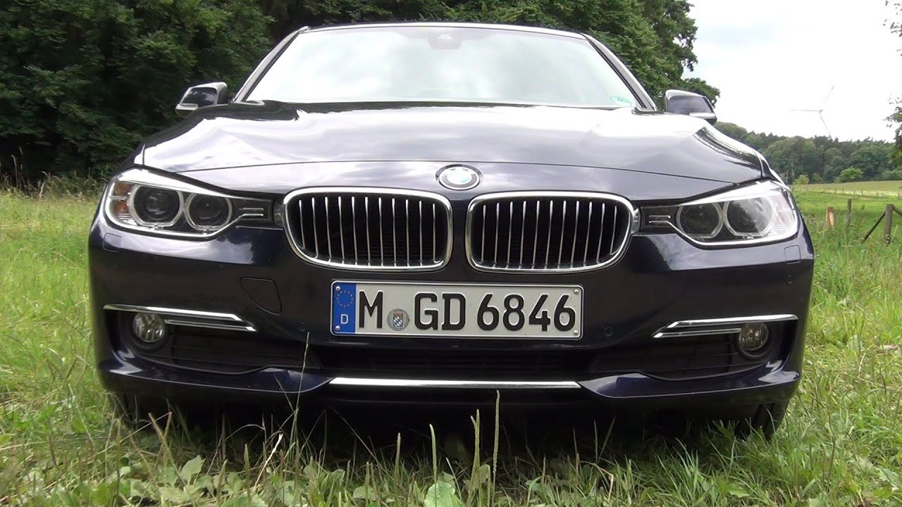 BMW Series F Test Drive Review - 2013 bmw 318i