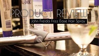 PRODUCT REVIEW: John Frieda Frizz Ease Hair Spray Review