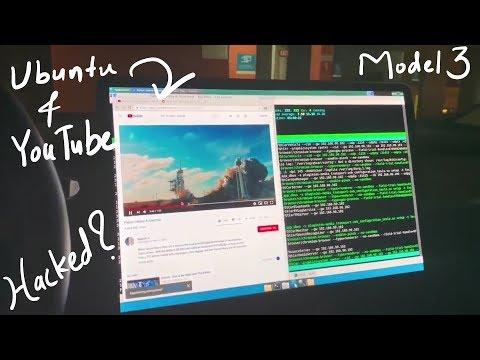 Tesla owner hacks/root Model 3 to run Ubuntu and play YouTube videos
