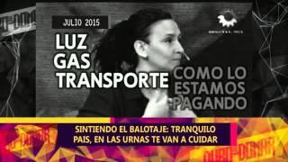DURO DE DOMAR - BALOTAJE - DOS MODELOS DE PAIS Y EL ROL DE LOS MEDIOS - 30-10-15