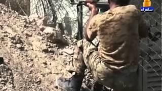شباب من الفلوجة يقومون بقتل 4 من عناصر داعش طعنا بالسكاكين