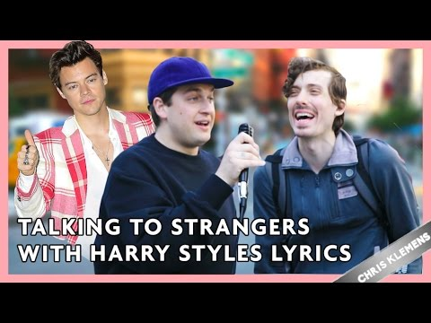 TALKING TO STRANGERS WITH HARRY STYLES LYRICS | Chris Klemens
