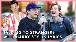 talking to strangers with harry styles lyrics   chris klemens