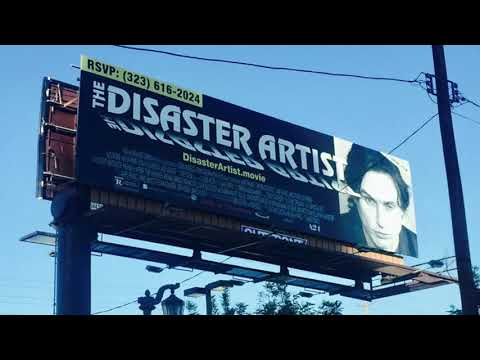 """The Disaster Artist"" Voicemail"
