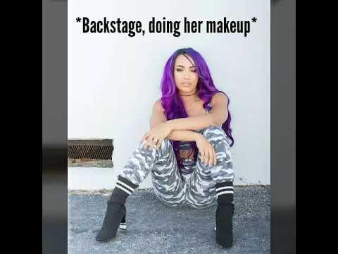 Download WWE Stinkface Stories: Nikki Bella stinkfaces Sasha Banks