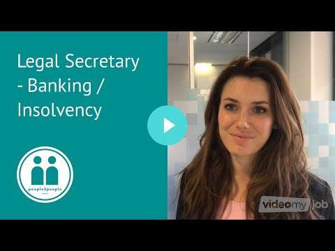Legal Secretary - Banking / Insolvency