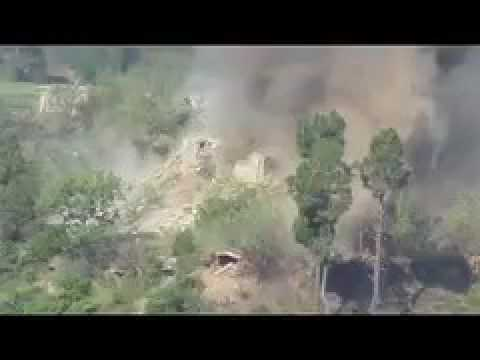 Indian Army Sikh Regiment destroying Pakistan Army Post