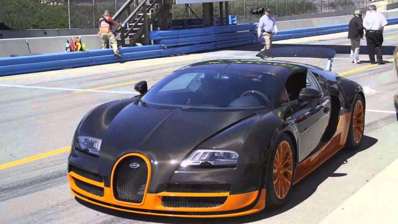 Laguna Seca Raceway >> 2011 Bugatti Veyron 16.4 Super Sport at Mazda Raceway ...