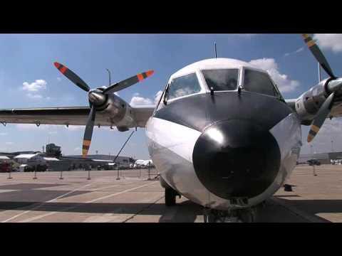 Arrivée du Nord 262 E Marine 72 au musée de l