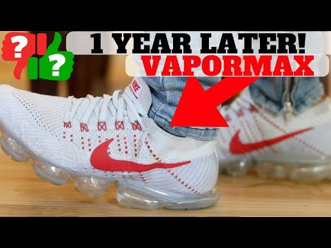 1 YEAR AFTER WEARING NIKE AIR VAPORMAX: PROS & CONS YouTube