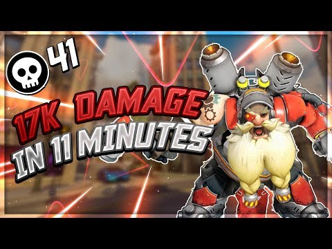 17k Damage In 11 Minutes! - Seagull - Overwatch
