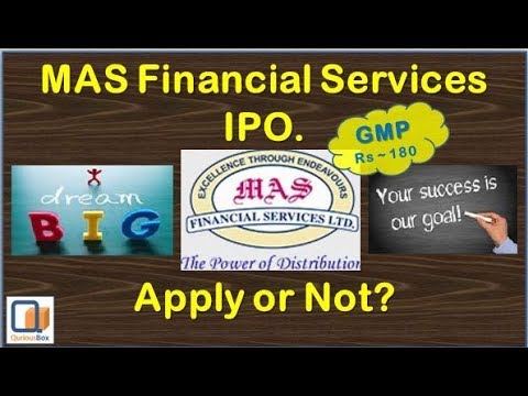 MAS Financial IPO Review   MAS Financial Services IPO   MAS Financial Services Limited IPO in Hindi