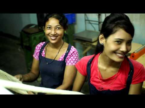 Women On Wings And Fabric Plus Corporate Film