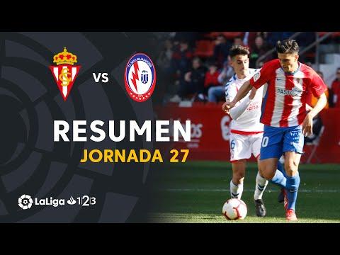 Resumen de Real Sporting vs CF Rayo Majadahonda (2-3)
