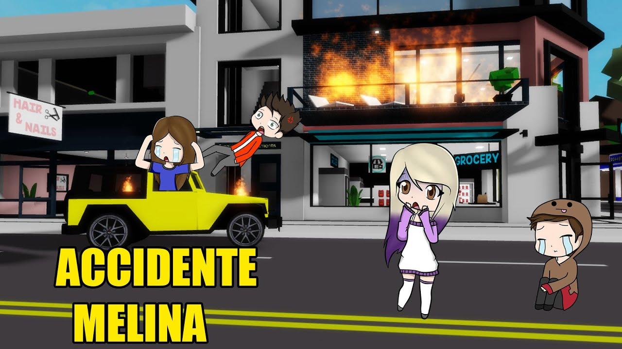 Download MELINA TIENE UN ACCIDENTE EN LA NUEVA CASA DE BROOKHAVEN ROBLOX   BROOKHAVEN TEAM ANORMAL