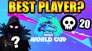 Meet The Fortnite World Cup CHAMPION Who Got 20 Kills SOLO To Win The 500K Duo Warm Up!
