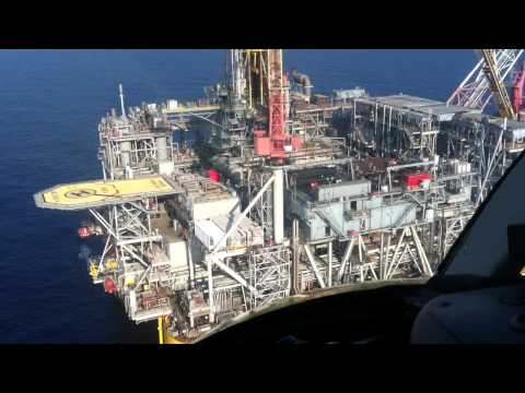 Landing on an Oil Platform in the Gulf of Mexico