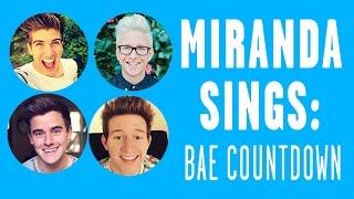 Miranda Sings Top 6 Baes Countdown