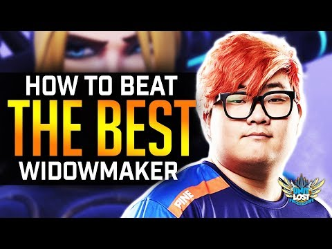 Overwatch - BEST WIDOW IN THE WORLD!? (and how to beat it!) thumbnail
