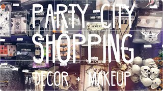 Halloween shopping 👻 Party city * FX Makeup + Halloween Decor