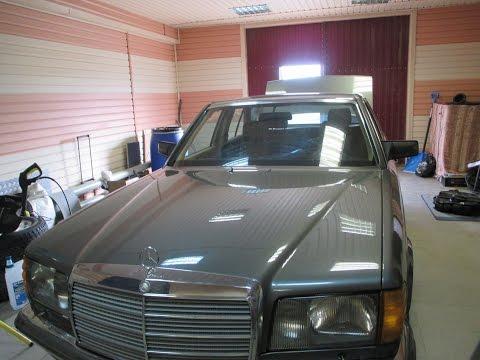 Авто легенда Мерседес S класса 126 кузов