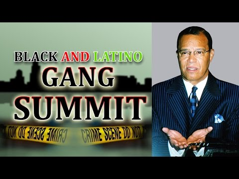 Black/Latino Gang Summit