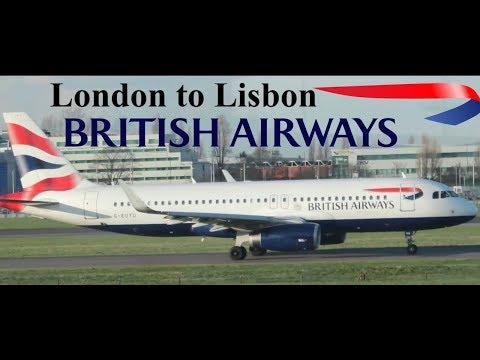 Trip Report: British Airways Airbus A320 London To Lisbon. LHR-LIS