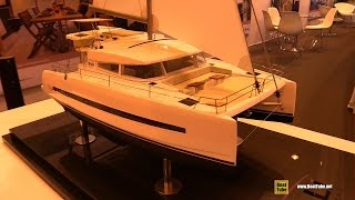 2016 Bali 4.0 Catamaran - Deck and Interior Walkaround - 2015 Salon Nautique de Paris