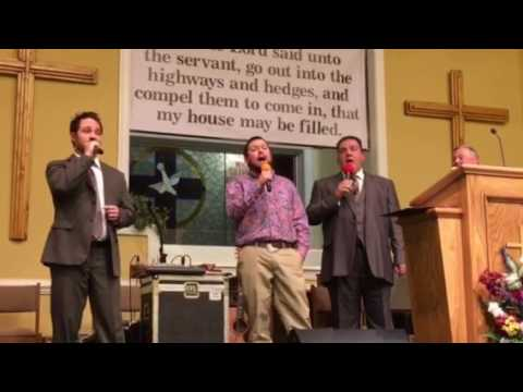 Mike, Michael, Bob Palmore and Christian Davis-Just a little talk with Jesus