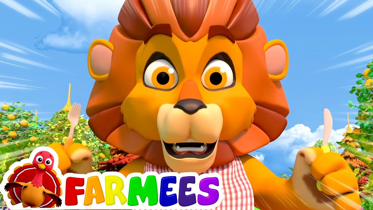 The Lion and the Mouse Story | Kids Cartoon Stories | Baby Songs | Children's Music | Farmees