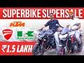 Gambar cover Used Superbike Sale 🔥 Ft. Jasneet Singh | Second Hand Superbike In Delhi 🏍️ Z800, Z900, KTM, TVS