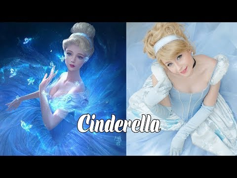 Disney Princess Character In Real Life -  Misa Cartoons