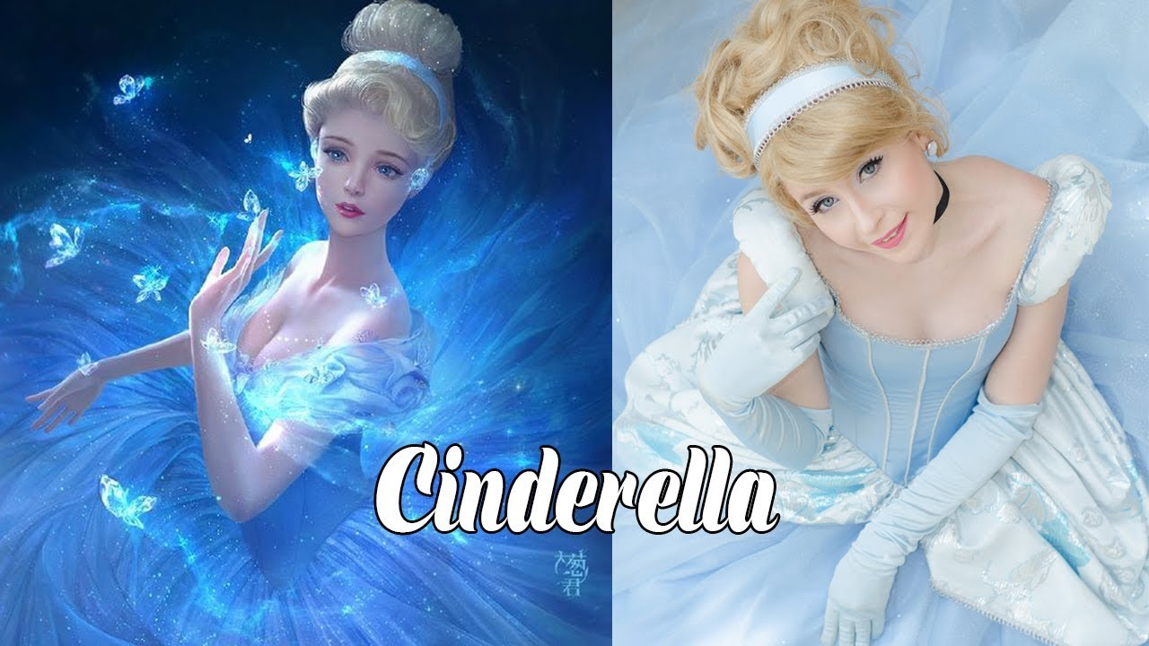 Disney Princess Character In Real Life Misa Cartoons Youtube