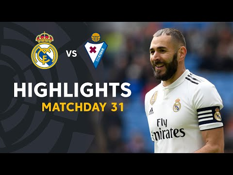Highlights Real Madrid vs SD Eibar (2-1)