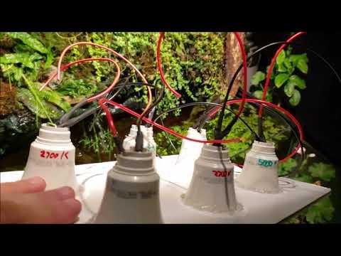 29 paneles de luz LED Grow para bricolaje que puede hacer en su casa 11