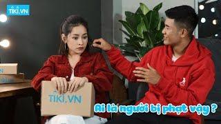 Hà Đức Chinh đoán mỹ phẩm vô cùng hài hước cùng Chi Pu   Chi Chinh Challenge (Tập 2)