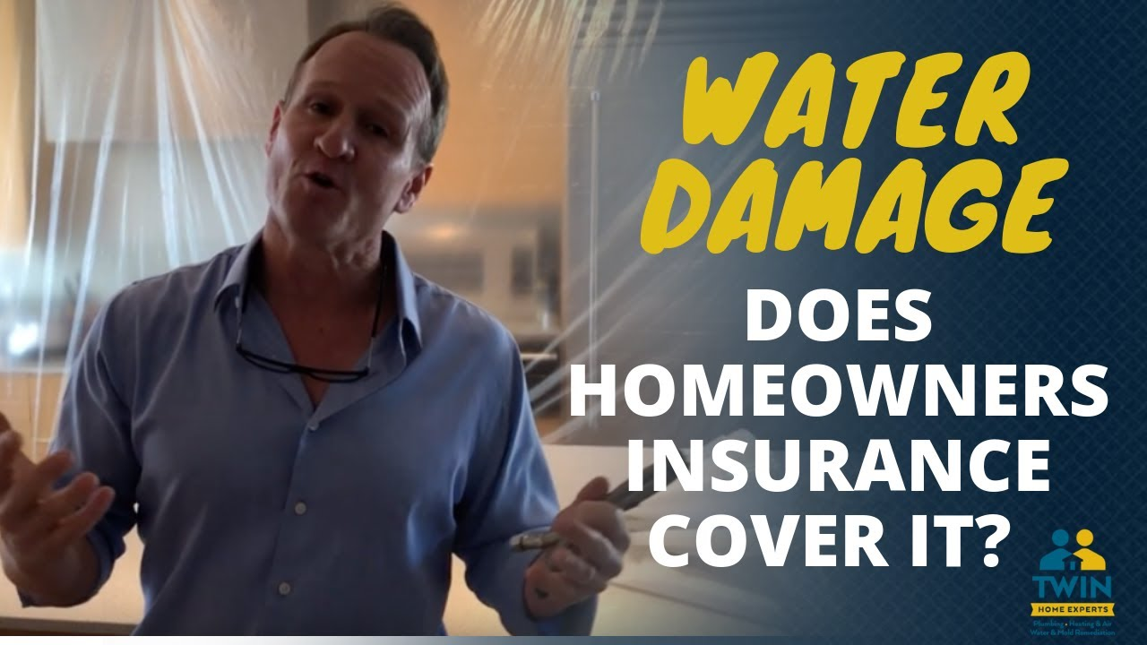 Does Homeowners Insurance Cover Water Damage From A Broken Pipe Youtube