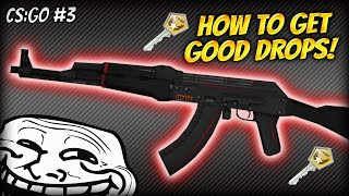 HOW TO GET GOOD STUFF IN CS:GO! REDLINE AK-47! CS:GO CASE OPENING (#3)