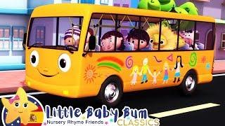 Las Ruedas del Autobús Naranja | Canciones Infantiles | Little Baby Bum en Español YouTube Videos
