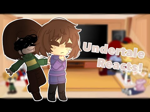 Undertale Reacts To Memes || Gacha Club