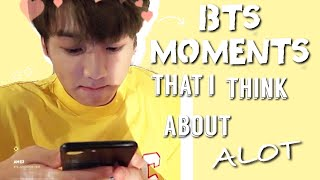 BTS Moments I Think About Alot